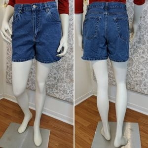 Bill Blass Vintage High Waist Mom Jean Shorts 6